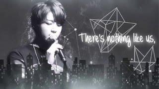 """BTS Jungkook (정국) """"Nothing Like Us"""" (COVER) Lyrics"""