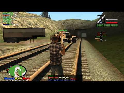 GTA San Andreas Multiplayer (SAMP) !