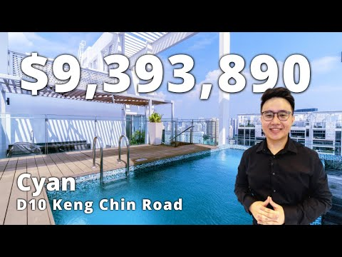 Private Pool Dual Storey Penthouse ($7.88M) Cyan at D10 Keng Chin Road | Singapore Home Tour Ep.150