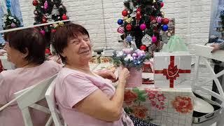 Зашли в гости к маме Самвела в новом году