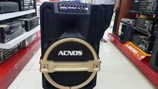 Review Dàn karaoke di động ACNOS KB39 tại siêu thị điện máy Chợ Lớn