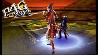Adachi & One kick woman vs The culprit - Persona 4 Golden PC