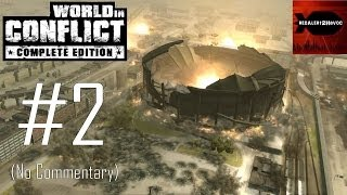 World in Conflict Complete Edition - Campaign Playthrough Part 2 (Invasion, No Commentary)