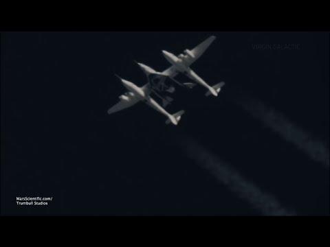 Virgin Galactic Tests New Spaceship