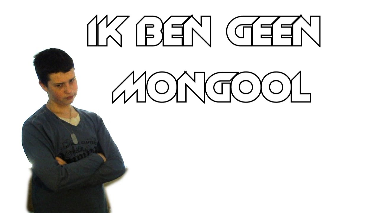 Jo Ik Ben Geen Mongool Youtube