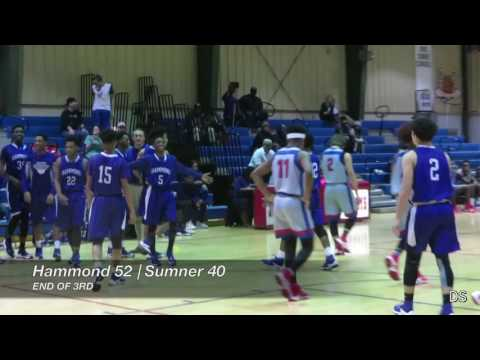 Hammond 64, Sumner 56 (Boys Full Game) - Non-District