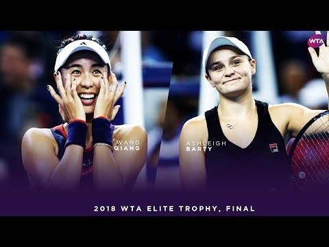 Wang Qiang vs. Ashleigh Barty | 2018 WTA Elite Trophy Final | WTA Highlights