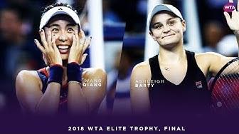 Wang Qiang vs. Ashleigh Barty | 2018 WTA Elite Trophy Final | WTA Highlights