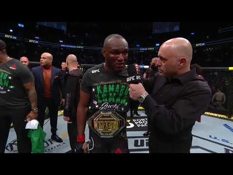 UFC 245: Камару