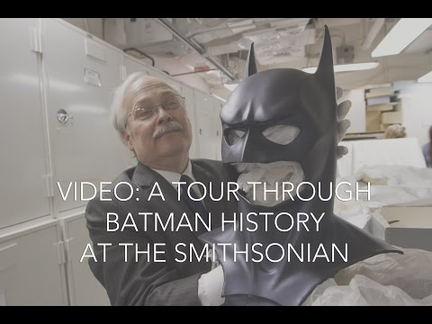 A tour through Batman history at the Smithsonian
