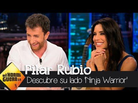 El emotivo vídeo de Pilar Rubio descubriendo su lado 'Ninja Warrior' - El Hormiguero 3.0