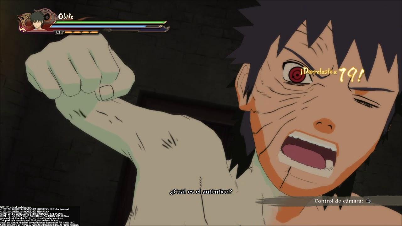 NARUTO SHIPPUDEN™: Ultimate Ninja® STORM 4 historia obito - YouTube