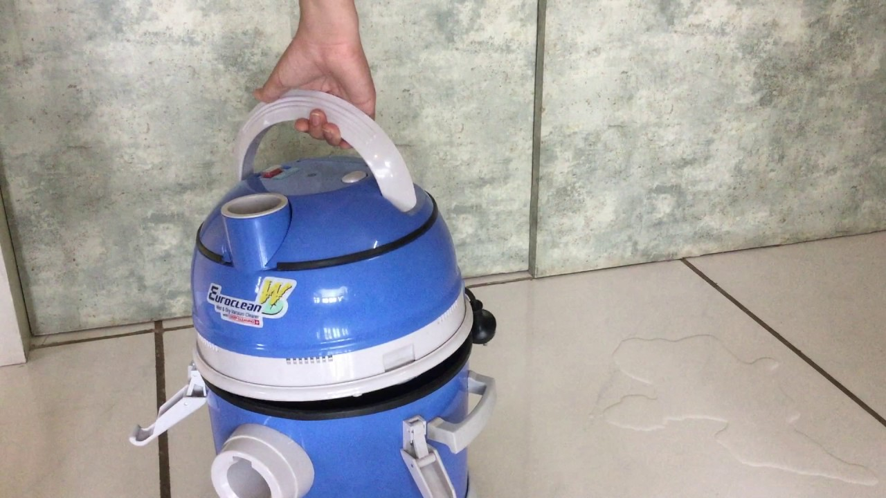 Wet Vacuuming With Your Eureka Forbes Euroclean Wd Youtube