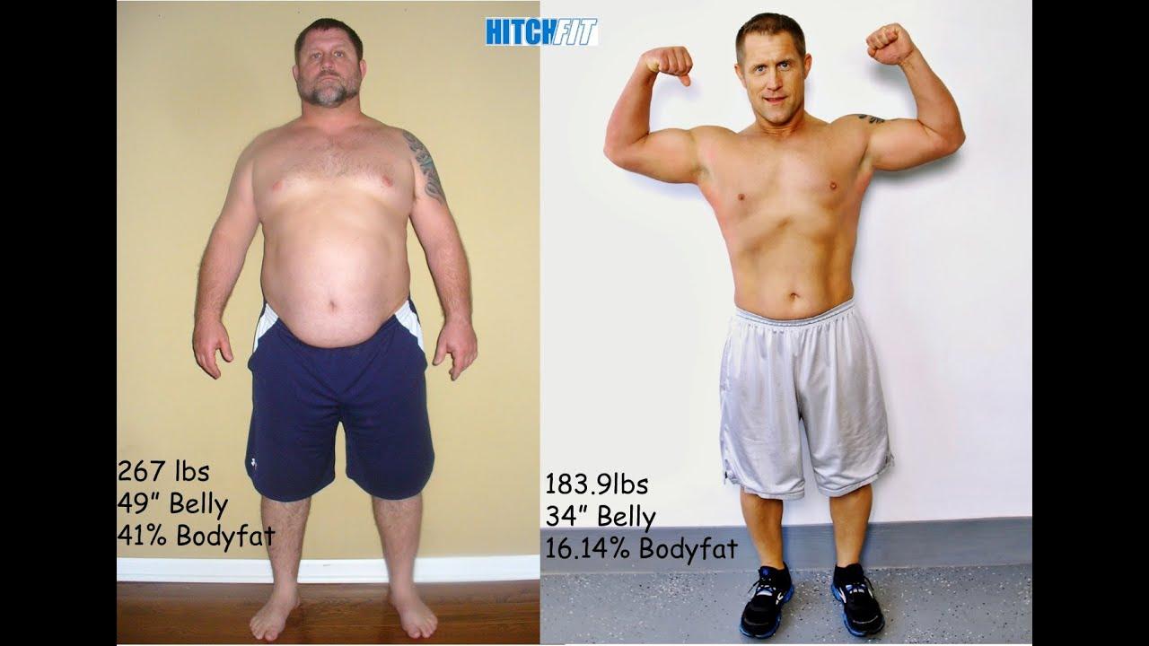 30 pound weight loss man