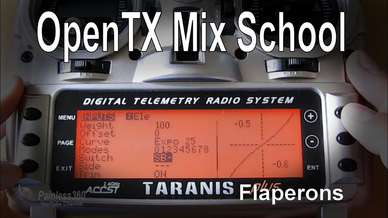 OpenTX Mix School: Flaperon