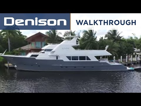 ROGUE: 105 Poole Expedition Yacht [Walkthrough] - YouTube