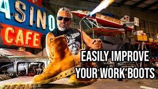 If You Own Work Boots You NEED This Hack!