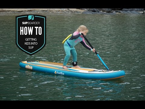 Getting kids into SUP / How to video