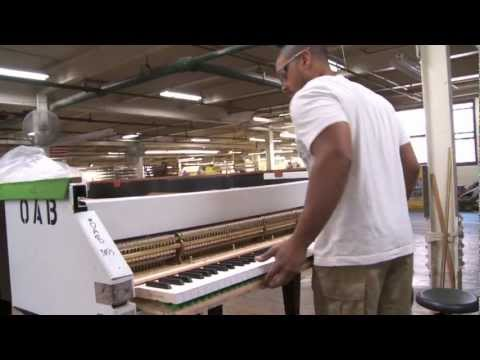 A Bad-Ass Bentwood Job, to the Tune of Bach: Inside NYC's Steinway & Sons Piano Factory