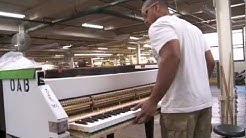 The Making of a Steinway - A Steinway & Sons Factory Tour Narrated by John Steinway