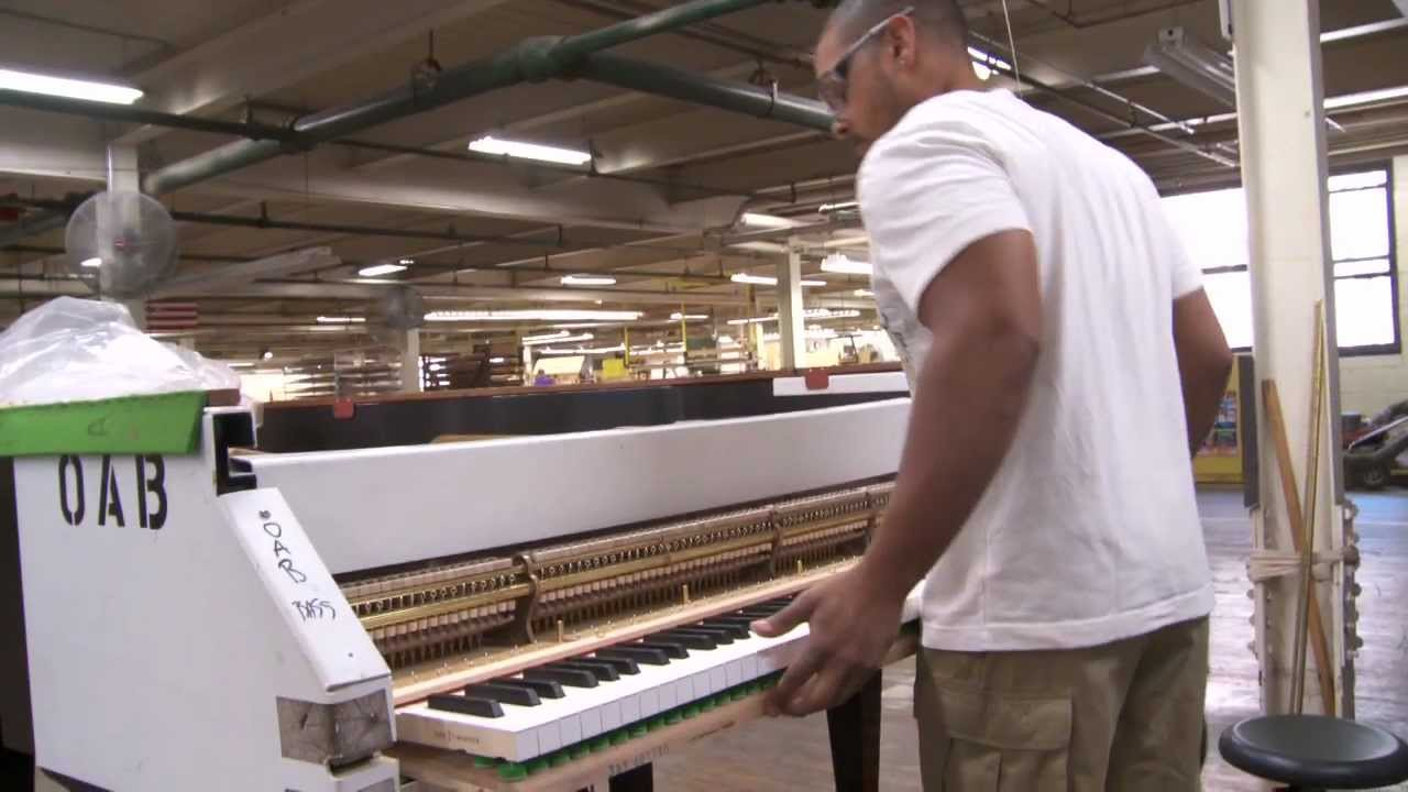 ピアノ講座第6回【ピアノ製造方法を見てみよう】