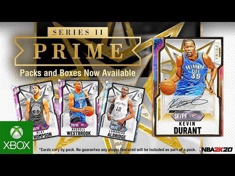 NBA 2K20 MyTEAM: Kevin Durant PRIME Series II Pack