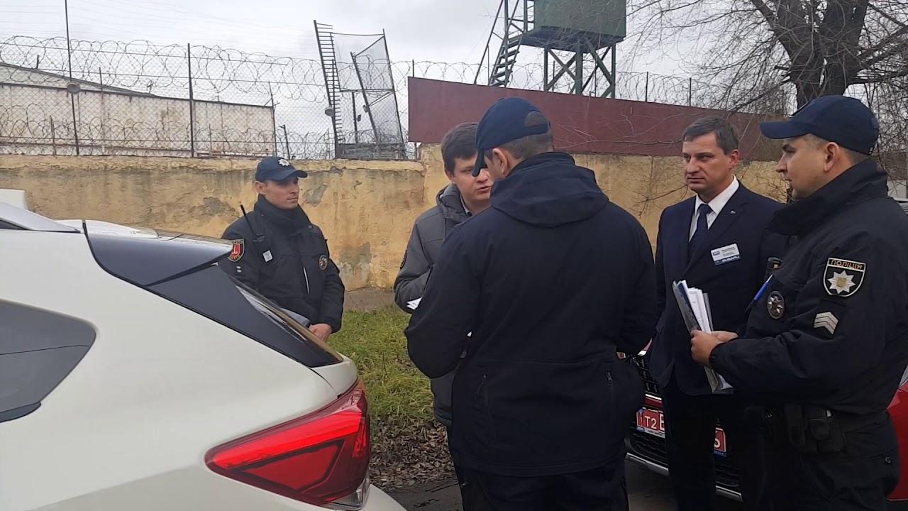 Полиция хотела забрать машину при тест драйве субару Одесса.