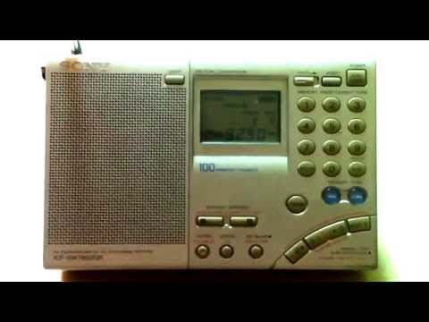 FM radio stations from Taiwan heard on SONY ICF-SW 7600GR, over Xiamen Bay.