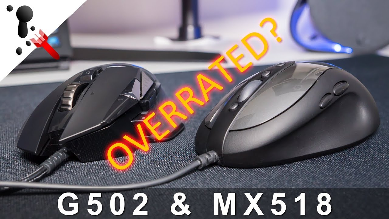 Is the Logitech G502 overrated? And MX518 Legendary thoughts