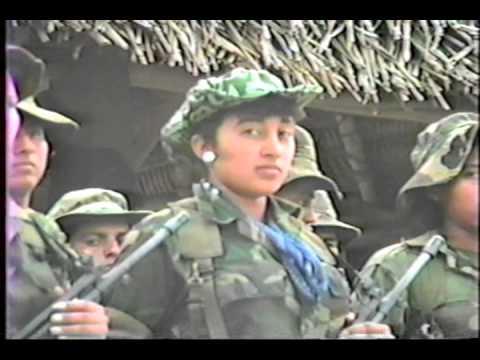 Ejercito de Guatemala 1988 Operativo en Quiche Parte 1