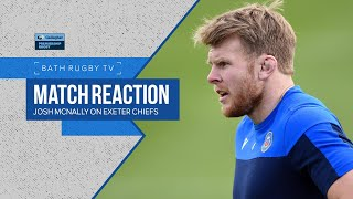 MATCH REACTION | Josh McNally on Exeter Chiefs