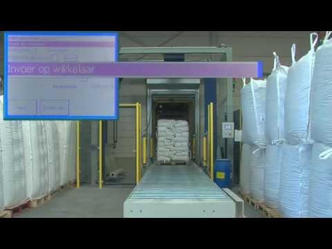 FG2300AD volautomatische palletwikkelmachine | De Witt eindverpakkingssystemen