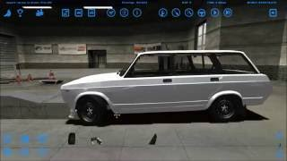 Создаем дрифт car из Ваз 2104 street legal racing redline