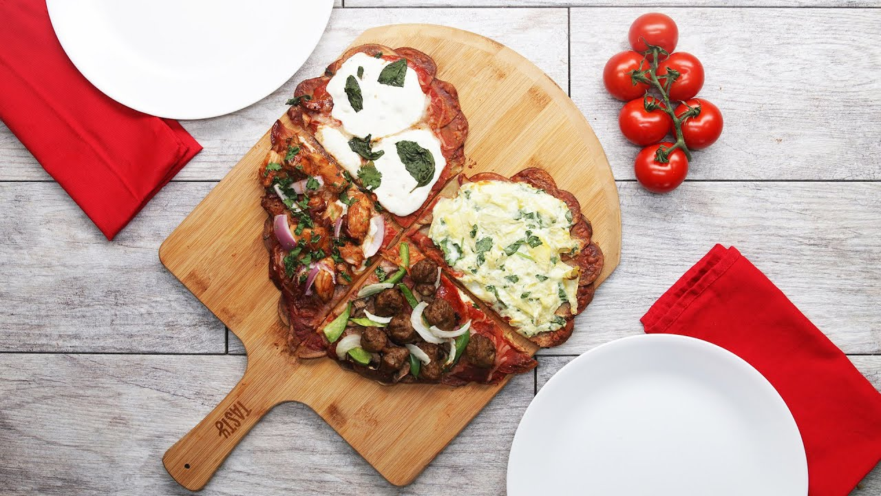 maxresdefault - Heart-Shaped Scalloped–Potato-Crust Pizza