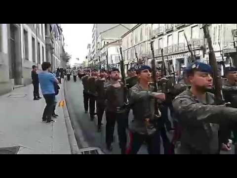 Desfile Guardia Real (Ourense 2017)