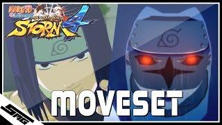 Naruto Ultimate Ninja Storm 4 - PTS Sasuke COMPLETE Moveset