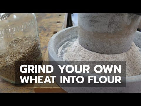 how-to-grind-your-own-flour-by-hand-from-wheat---bailey-line-life-#17