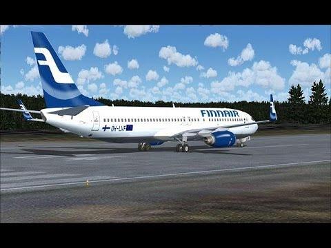 FSX Stockholm - Helsinki (B737-800)
