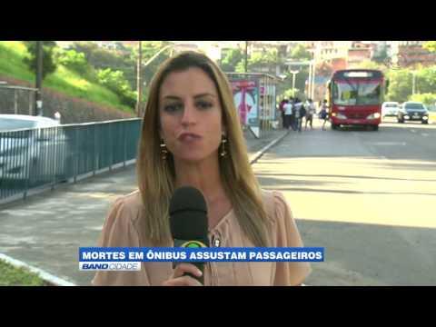 """Band Cidade - """"Mortes em ônibus assustam passageiros"""""""