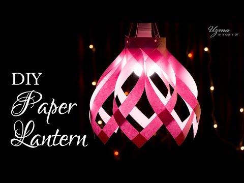 DIY Diwali Decoration Ideas | Paper Lantern