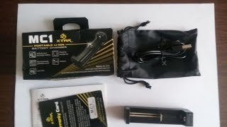 [Обзор, GearBest] Зарядное XTAR MC1 для Li-ion аккумуляторов 3.7В 10440 - 26650