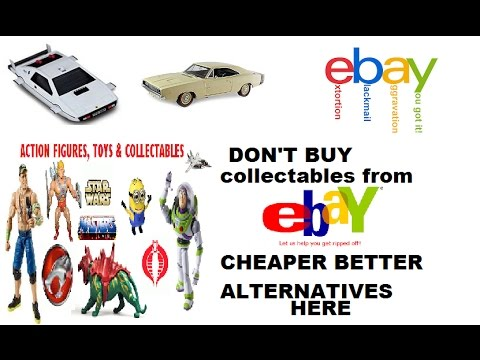 Ebay Sucks advice were to get  old collectables toys cheap in bulk