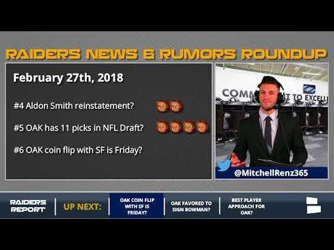 Raiders Rumors: Jarvis Landry Trade & Raiders 2018 Draft Picks
