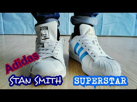 Superstar vs Stan Smith | Adidas Comparison + On Feet YouTube