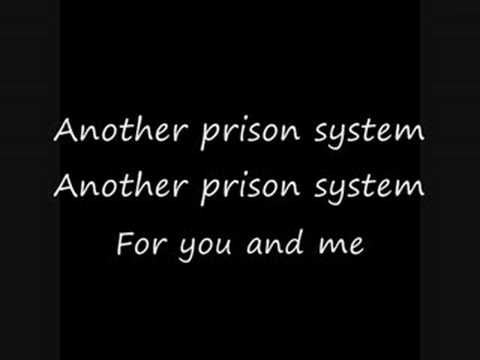 SYSTEM OF A DOWN - Prison Song (Lyrics)