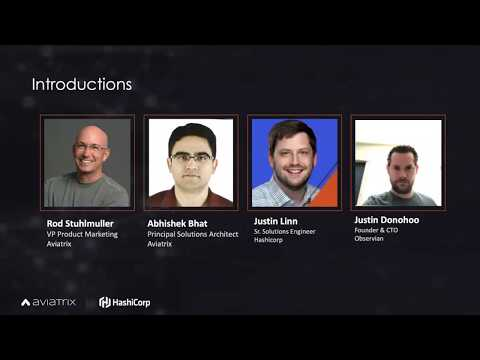 Webinar: HashiCorp and Aviatrix: Infrastructure as Code for Multi-Cloud Networking