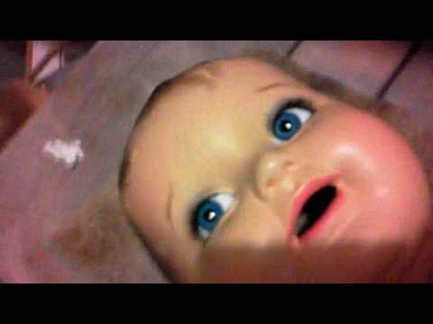 Replacing Eyes in an Antique Composition Doll The Swanky Way Pt 6