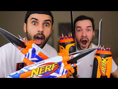 MOST DANGEROUS TOY OF ALL TIME VS EDITION!!! (EXTREME NERF!!)