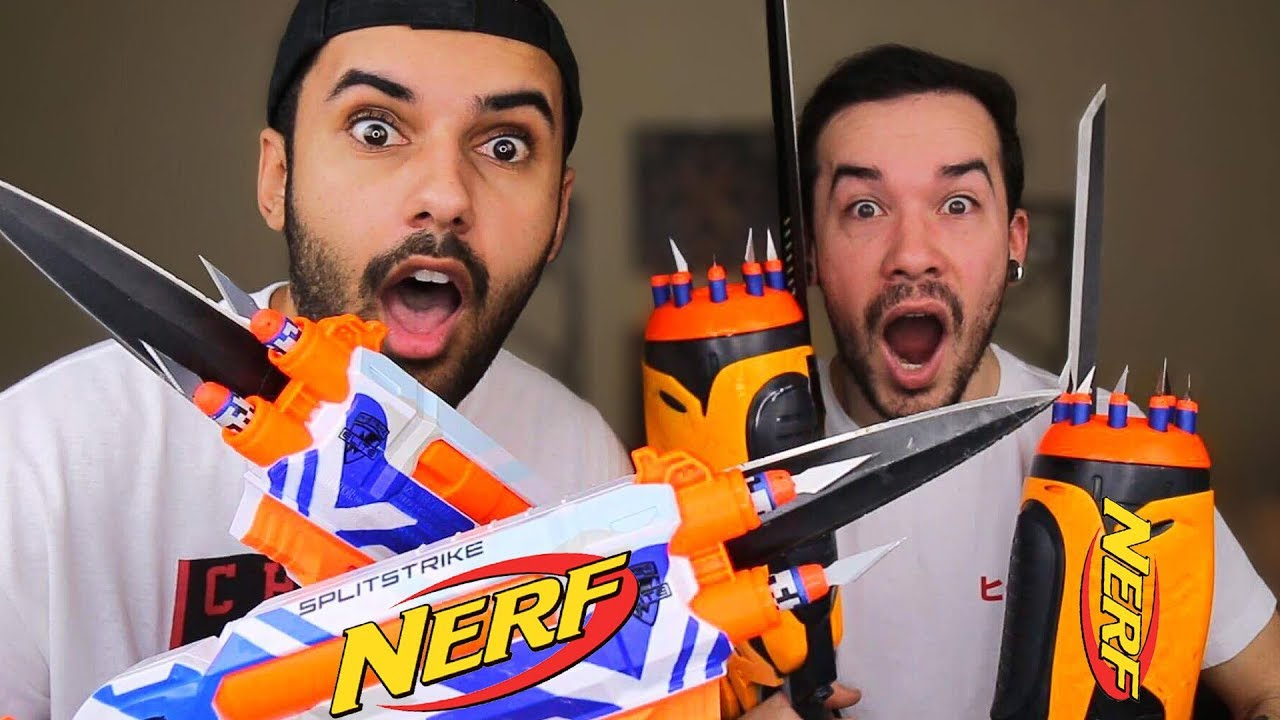 MOST DANGEROUS TOY OF ALL TIME VS EDITION!!! (EXTREME NERF ...