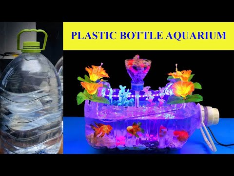how to make an aquarium at home using plastic bottle make it easily youtube. Black Bedroom Furniture Sets. Home Design Ideas